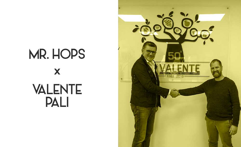 Mr Hops inizia la partnership con Valente Pali